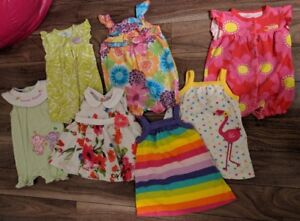Baby Girl Summer Clothes Lot: 12 Months