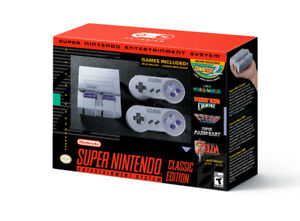 SNES Classic Brand NEW IN BOX SEALED