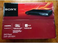 Sony DVD Player with picture enhancing technology