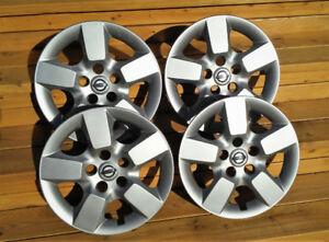 Caps / Enjoliveurs de roue 16po Nissan Rogue - Originaux