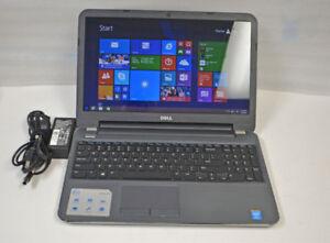 """Dell 15R-5537 15"""" Touchscreen, i7, 8gb, 1tb, Win 10, warranty"""