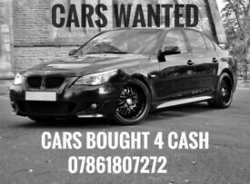 CARS WANTED !!! WE BUY ANY CAR !!! (SAME DAY COLLECTION)