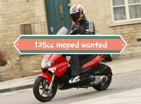 Looking for a starter moped 125cc £300 - £700 price range no older than 8 years