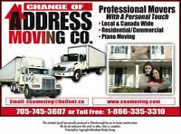 PETERBOROUGH'S MOVING CO. (705) 745-3607...FREE QUOTES.