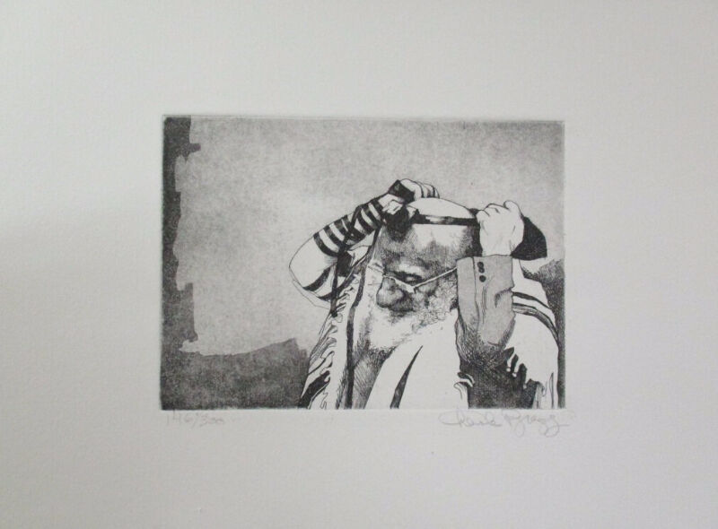 Stunning Limited Edition Etching Print by Charles Bragg!