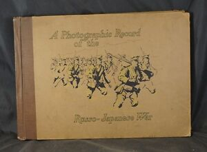 BOOK - PHOTOGRAPHIC RECORD RUSSO-JAPANESE WAR 1905