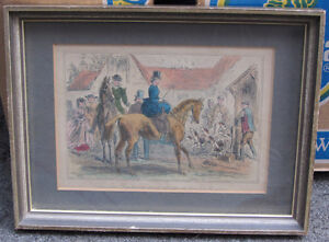 6 Framed Vintage Hunting themed Pictures London Ontario image 2
