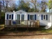 Luxury 6 Berth Mobile Home sited on popular family campsite in Benodet, Brittany, France