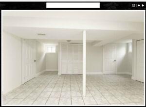 2 Bedroom basement near Kennedy Subway Station