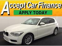 BMW 116 1.6TD Sports Hatch 1595cc 2012MY d EfficientDynamics FROM £46 PER WEEK !
