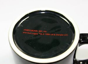 James Bond A License to Thrill Coffee Mug/ Cup Black from 1999 Kingston Kingston Area image 4
