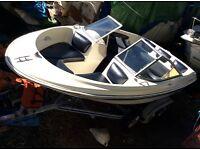 Boat bayliner bow rider only no trailer or engine BARGIN