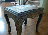 Small accent table in perfect condition $30.  Shades of light an