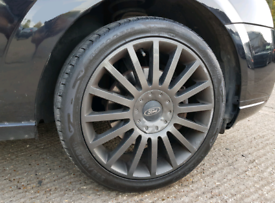 18 Inch Ford ST Alloy Wheels & Tyres - mondeo focus galaxy jaguar 5x10