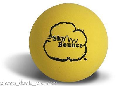 GENUINE SKY BOUNCE HAND BALL RACKET BALL RACQUETBALL (LOT OF 6 YELLOW) USA