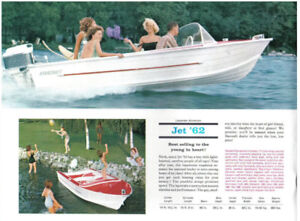 Vintage 1963 starcraft jet 15' runabout, classic aluminum boat