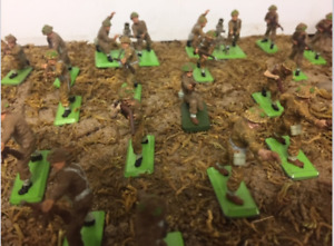 Toy soldiers, britains deetail, 1/32 scale. No longer made.