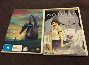 Princess Mononoke + Tales From Earthsea DVD Alexandra Hills Redland Area Preview