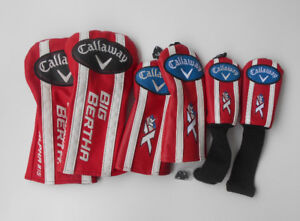 ** F/S BRAND NEW CALLAWAY ALPHA 815 AND XR16 HEADCOVERS! **