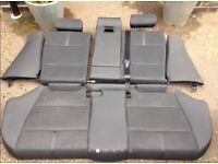 BMW X3 2005 sport vinyl type seats (2004-2007) - could be part leather