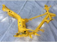 Gilera runner frame Powdercoated yellow