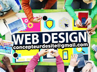 Website Design - conception de site web, création site internet