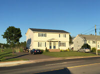 Large 3 Bedroom duplex for rent in Dieppe with large backyard