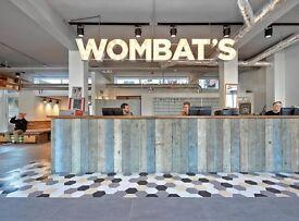 wombats Hostel London is hiring KITCHEN/BREAKFAST staff (part time only)