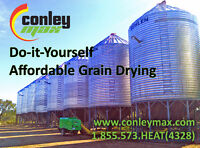 Safe and Efficient Grain Drying - Portable Units Come to You!