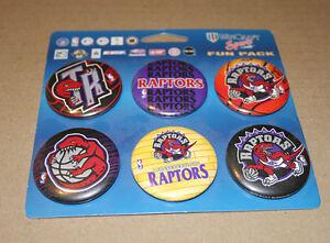 Toronto Raptors Basketball six button set Strathcona County Edmonton Area image 1