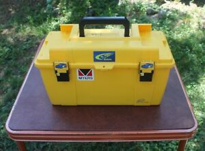 Yellow Tool Box with Contents