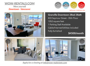 2 Bedroom Granville Downtown Home In The Sky