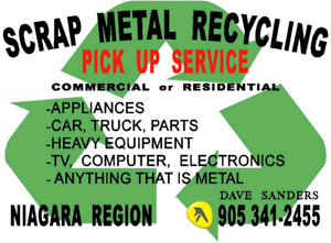 SCRAP METAL, E-WASTE PICK UP SERVICE