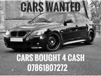 WE BUY ANY CAR, CARS WANTED
