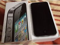 iPhone 4s factory unlocked/black 16gb