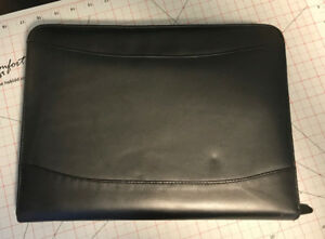 Leather Portfolio / Zippered Organizer A4 or Letter size