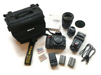 Nikon D700 + 50mm f1.8 + 17-70mm f2.8 + 2 batteries + 3 memory W