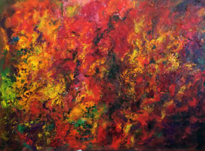 Beautiful Painting - Oil on Canvas- best price starting from 145