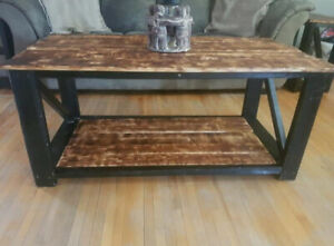 Rustic Coffee Table Set