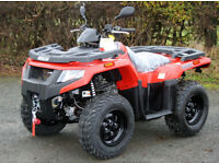 Arctic Cat 400 Alterra 4x4 Quad Farm bike New