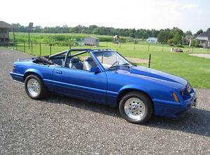VERY CLEAN 1986 MUSTANG CONVERTIBLE! Spotless California Car!!