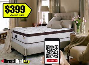 BRAND NEW Double / Queen Pocket Coil Euro Mattress FREE Delivery