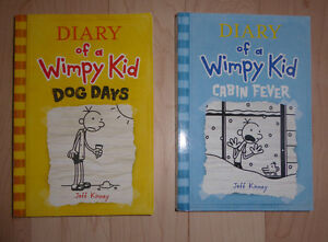 2 Diary of a Wimpy Kid paperbacks $ 3 ea or both for $ 5