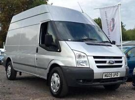 2009 Ford Transit 2.4 TDCi 350 MWB Trend (High Roof) 3dr