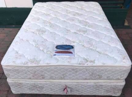 Almost new top-range Sealy Brand double bed for sale