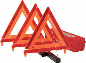 Highway Emergency Warning Triangle 22-5-00231-8 3 pack (Bell)