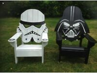 Amazing garden chairs star wars the punisher and more