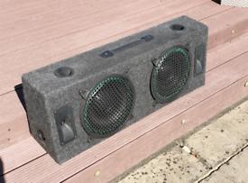 SOLD - Subwoofer Speaker box for Car or Home