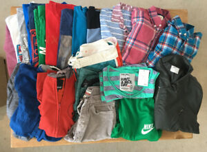 Large Lot Young Men's Clothes-mainly Name Brand-most size M