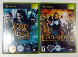 Xbox - Lord of the Rings 2 & 3